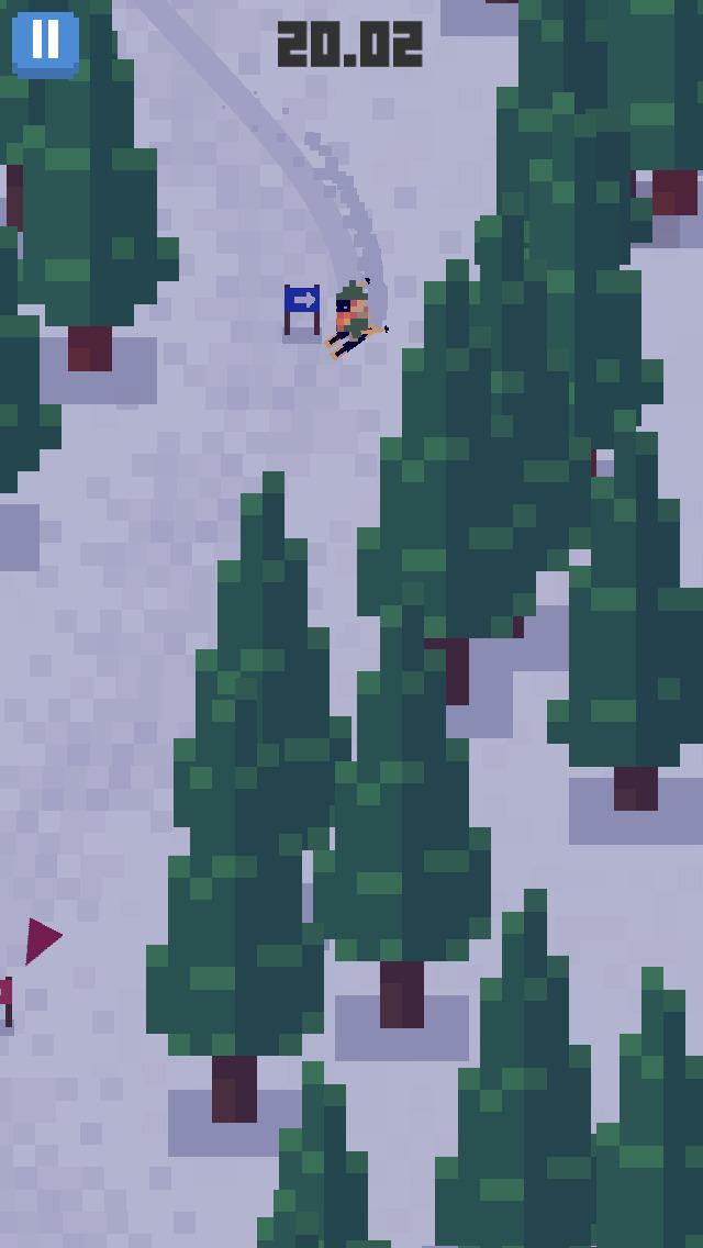 Skiing Yeti Mountain screenshot 5