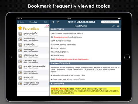 Mosby's Drug Reference screenshot 10