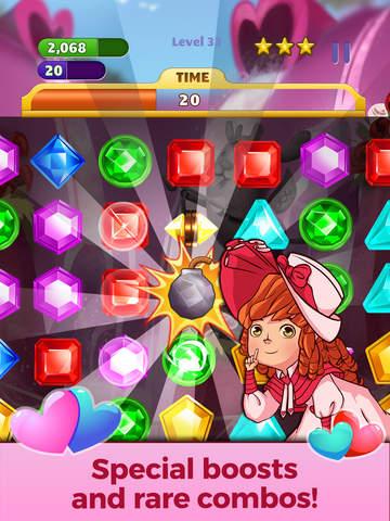 Jewel Mania Valentine's Day screenshot 9