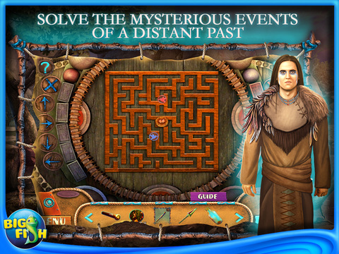 Myths of the World: Spirit Wolf HD - A Hidden Object Mystery Game screenshot 3