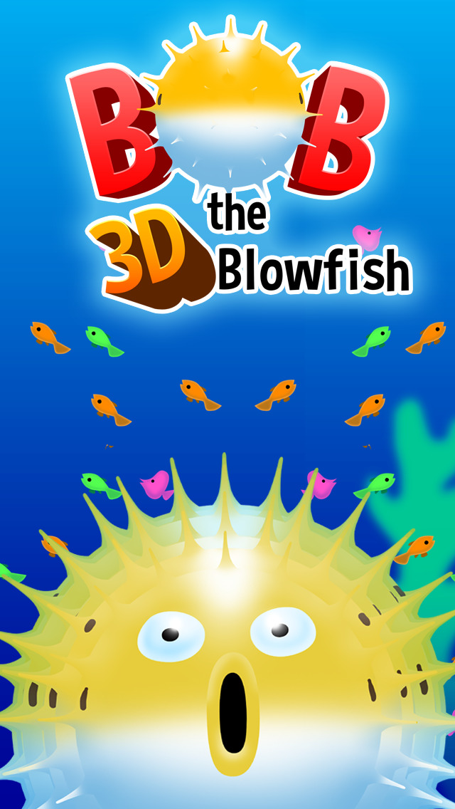 Bob the Blowfish - The Moody Virtual Fugu Fish screenshot #1