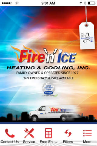 Fire N Ice Heating & Cooling, Inc. - náhled