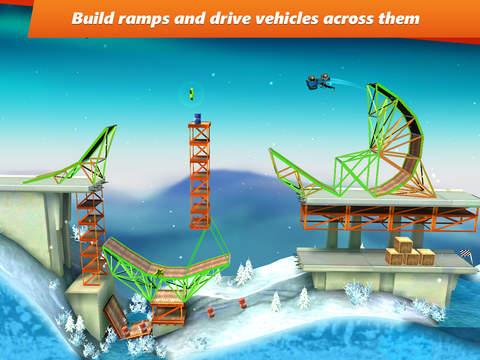 Bridge Constructor Stunts screenshot 6