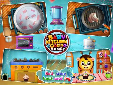Baby Kitchen Cooking Game screenshot 4