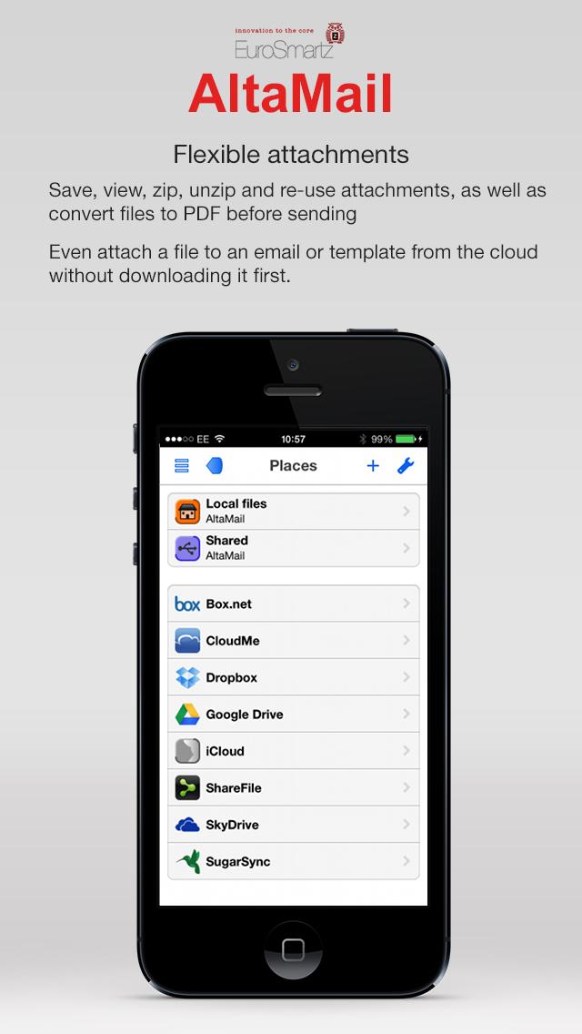 AltaMail screenshot 5