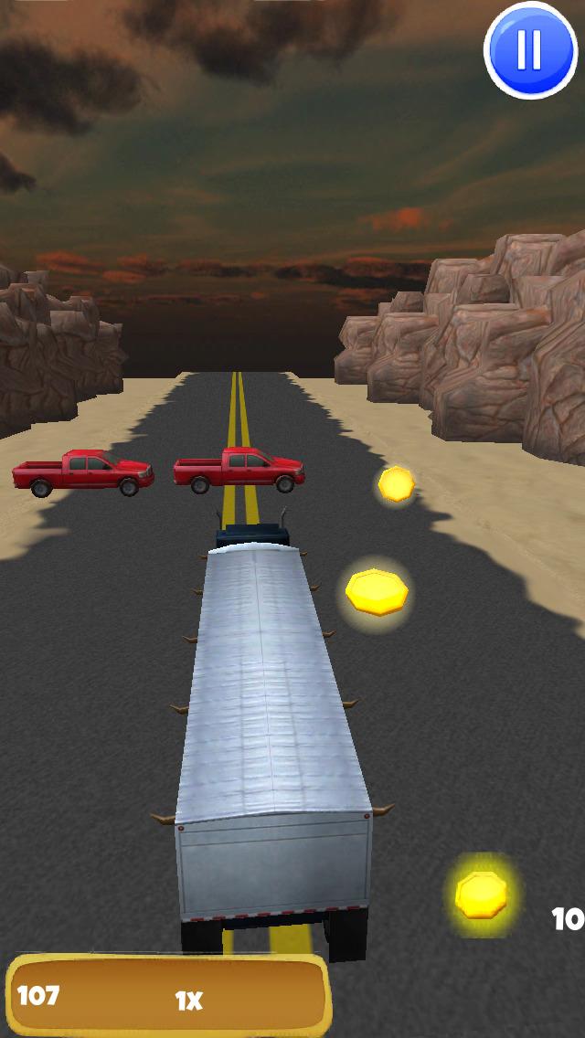 Big Rig Trucker: 3D Semi Truck Driving Game - FREE Edition screenshot 3