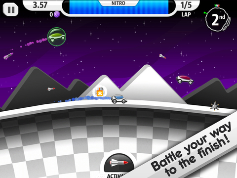 Lunar Racer screenshot 7