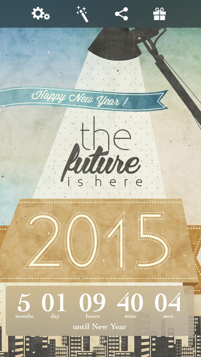 New Year Countdown‼ screenshot 1