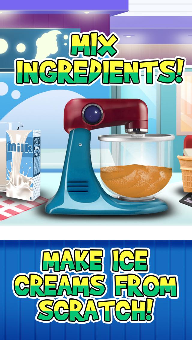 Awesome Ice Cream Parlor Maker - Frozen Jelly Dessert Free screenshot 2