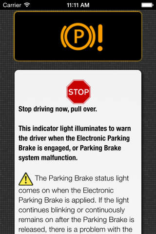 App for Chevrolet Cars - Chevrolet Warning Lights & Road