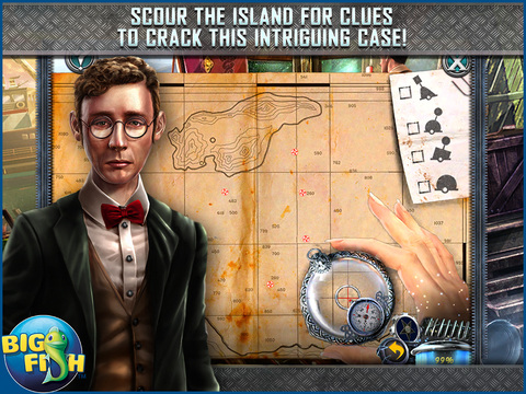 Dead Reckoning: Silvermoon Isle HD - A Hidden Objects Detective Game screenshot 3