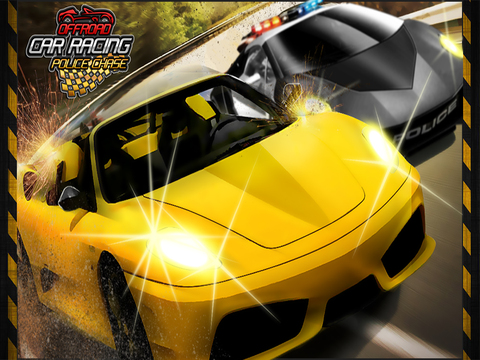 ``Action of Offroad Car Racing: Police Chase Driving Free screenshot 5