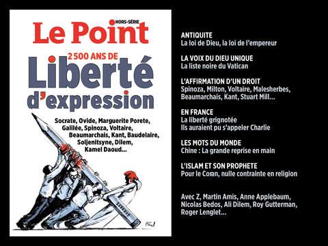 Le Point - 2500 ans de liberté d'expression - náhled
