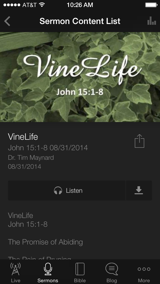 Fruit Cove Baptist screenshot 3