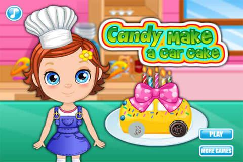 Candy Make A Car Cake-EN - náhled