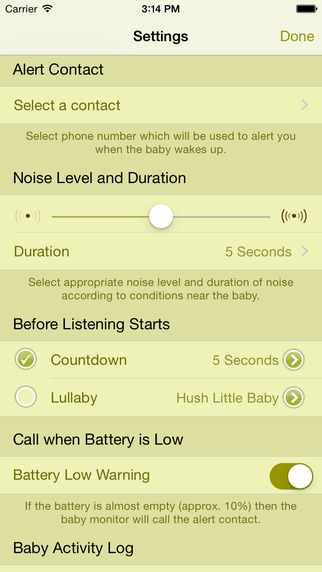 Baby Monitor Apps for your iPhone Safe Baby