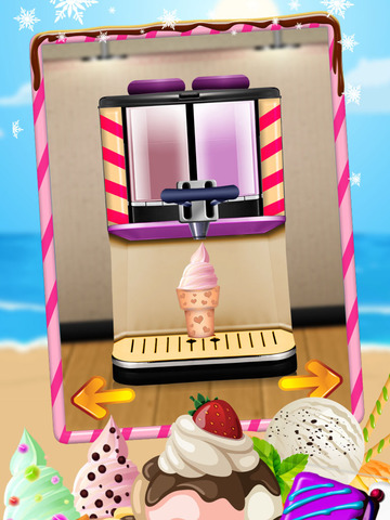 A AmazeBalls Dessert Maker Ice-Cream Creator - Cones, Sandwiches & Sundaes screenshot 9