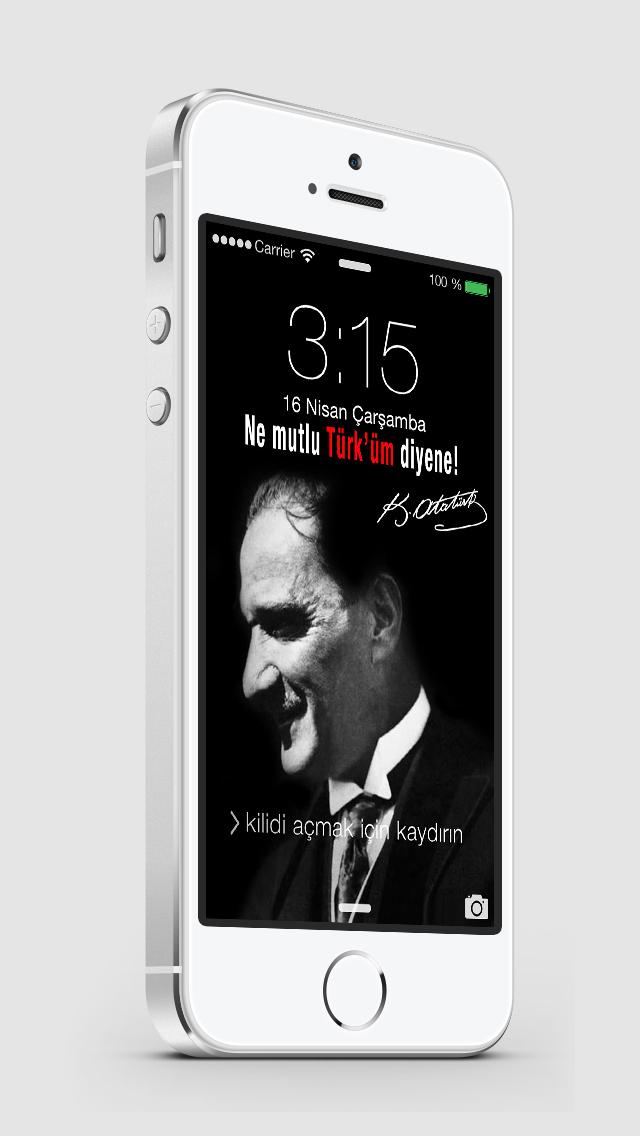 Atatürk Wallpapers & Lock Screens screenshot 3
