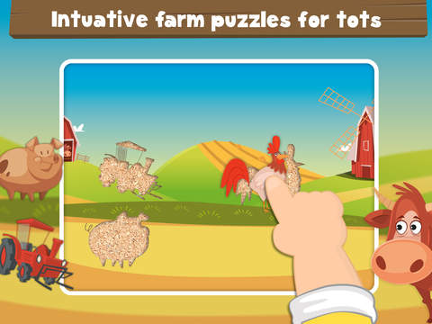 Milo's Mini Games for Tots, Toddlers and Kids of age 3-6 - Barn and Farm Animals Cartoon screenshot 10