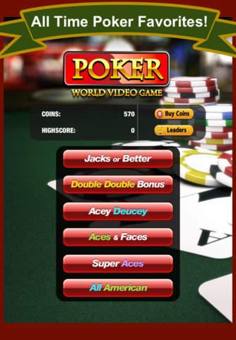 A Poker World Video Game (Not Texas Holdem) Casino - náhled