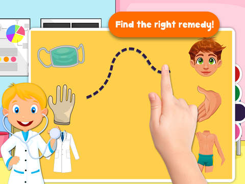 Free Kids Puzzle Teach me Hospital - Learn how to be a doctor or a nurse screenshot 6