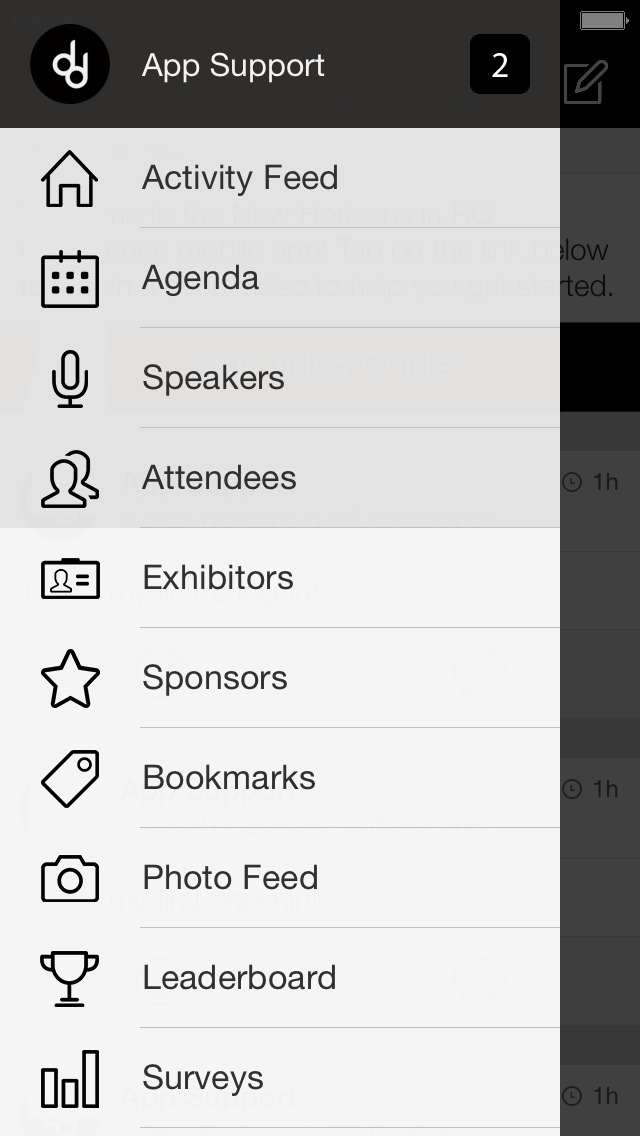 EXHIBITOR Learning Events screenshot 1