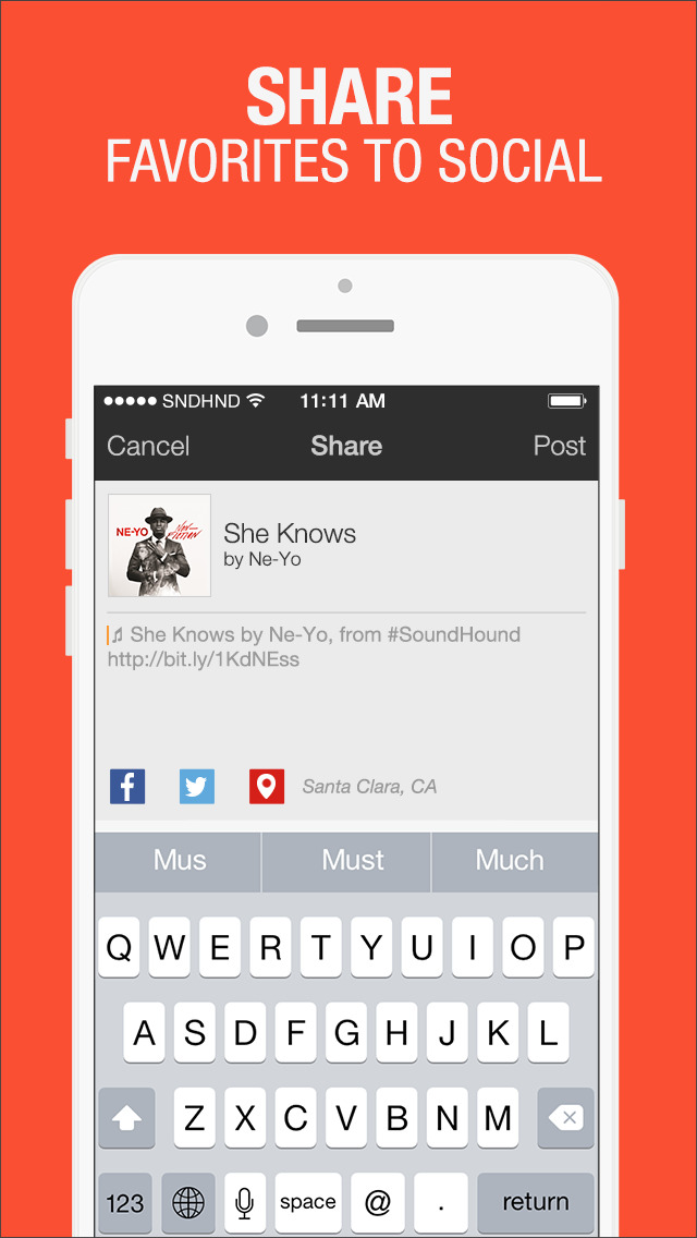 SoundHound - Music Discovery screenshot 3