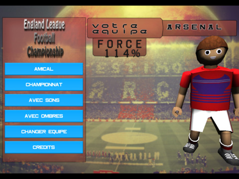 England League Soccer screenshot 6