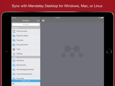 Mendeley (PDF Reader) screenshot 6