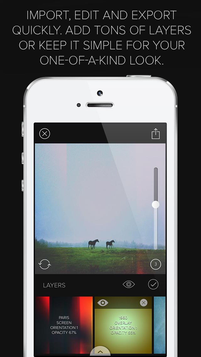 Mextures Photo Editor screenshot 5