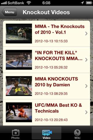 MMA EX - náhled