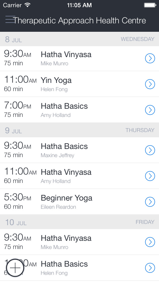 Therapeutic Approach Yoga screenshot 1