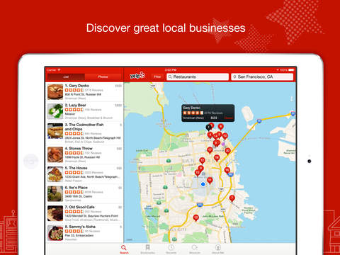 Yelp-Food & Services Around Me screenshot 5