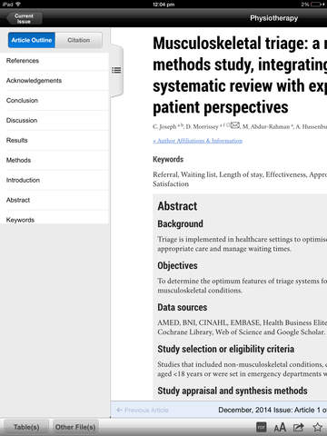 Physiotherapy screenshot 8