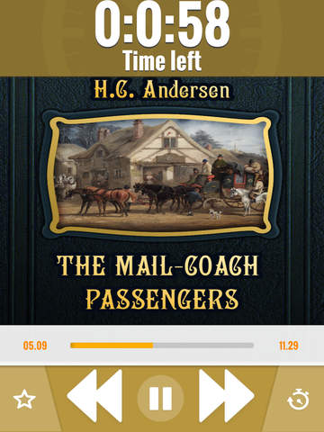 H.C. Andersen: The Mail-Coach Passengers - náhled