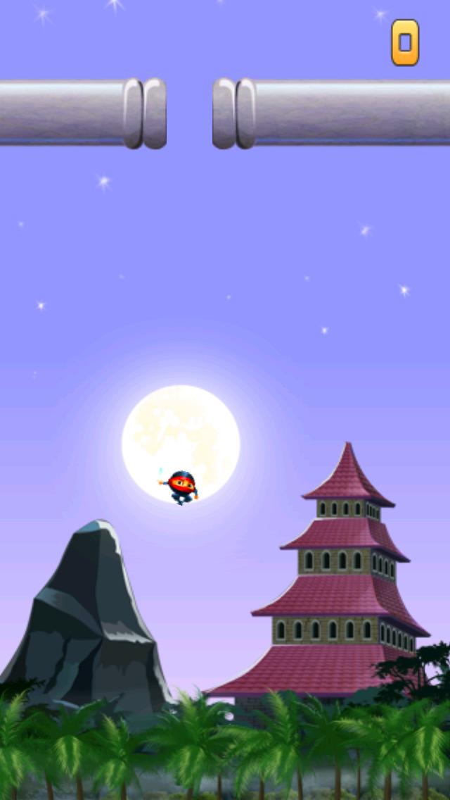 Ninja Air Jump screenshot 2