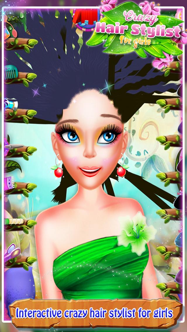 Crazy Hair Stylist For Girls screenshot 3