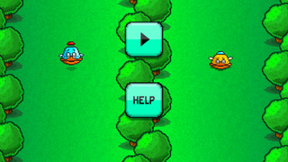 Flappy Downhill Racing - Race 2 Bird At The Same Time screenshot 1