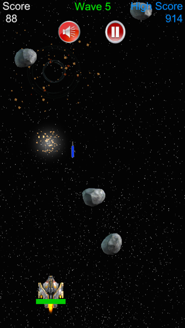 Arcade Space Shooter screenshot 2