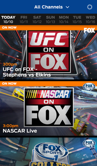 FOX Sports GO screenshot 2