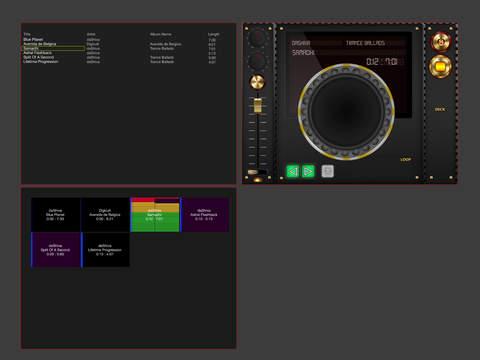 iDJ Player HD - náhled