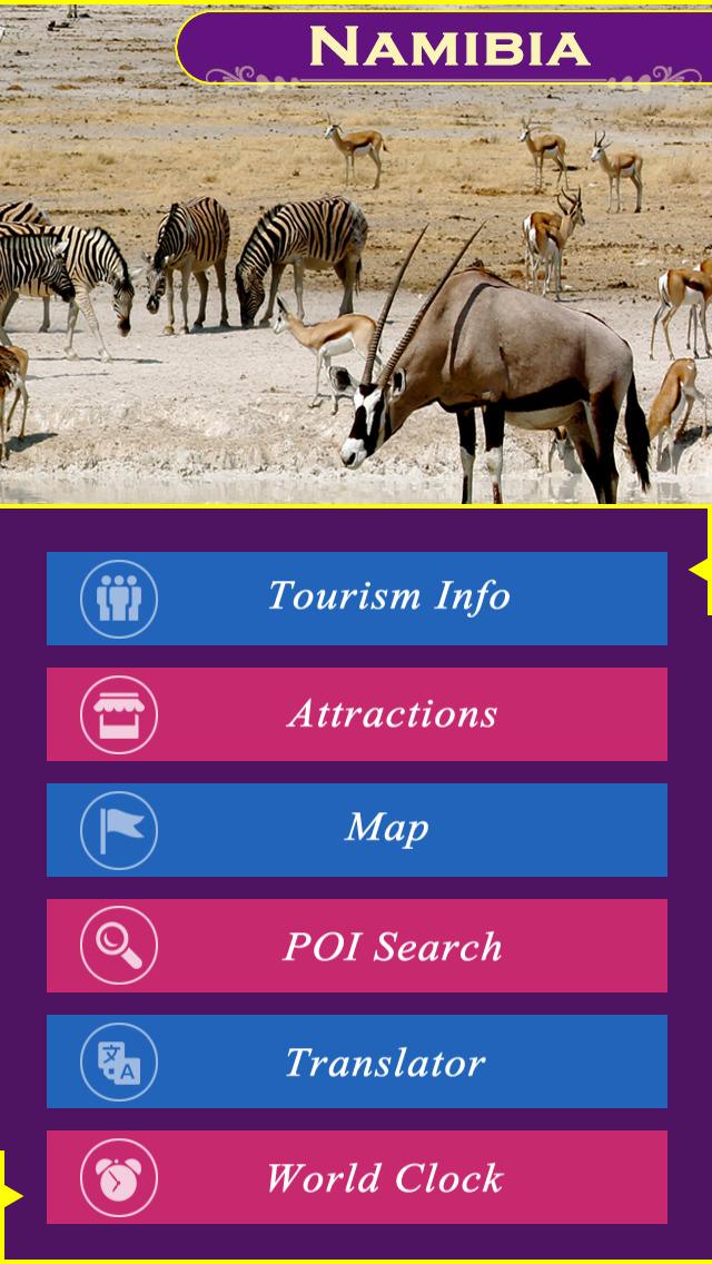 Namibia Tourism Guide screenshot 2