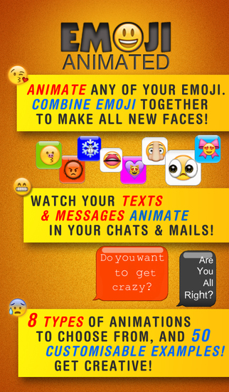 Emoji Animated Pro - Create your own custom GIF messages screenshot 1