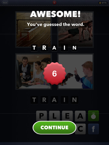 4 Pics 1 Word screenshot #3