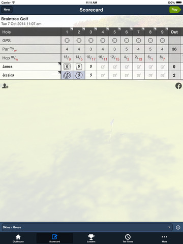 Braintree Municipal Golf screenshot 9