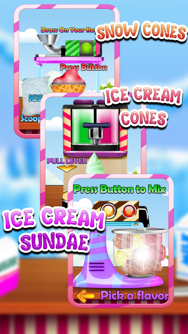 """ A AmazeBalls Candy Froyo Maker – Customer Frozen Yogurt Creator Free screenshot 5"