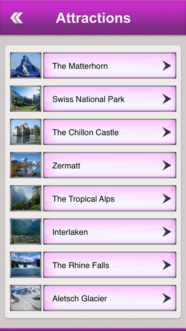 Switzerland Tourism Guide screenshot 3