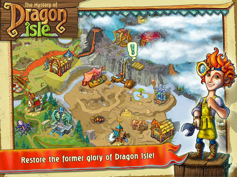 The Mystery of Dragon Isle screenshot 10