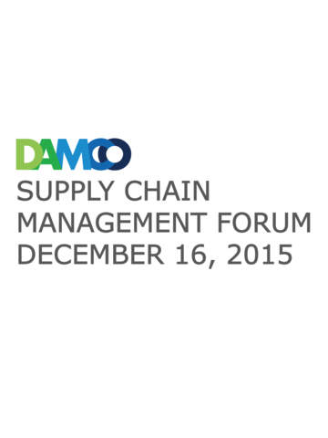 Damco SCM Forum screenshot 3