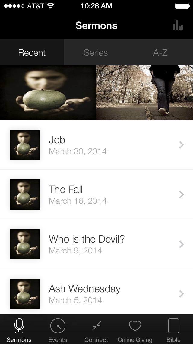 Asbury Church Mobile App screenshot 1